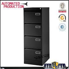 armoire metallique bureau noir lourd jauge métallique construction 4 tirage bureau suspendus
