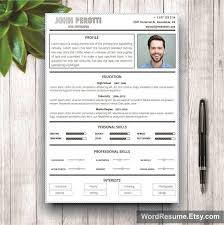 Modern Resume Format Creative Modern Resume Template Resume Templates Creative Market