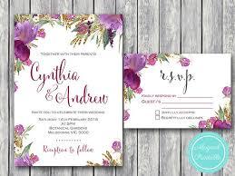 purple wedding invitations best 25 purple wedding invitation suites ideas on