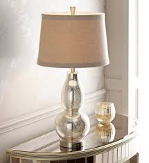 lighting best mercury glass table lamp with glass table lamps and