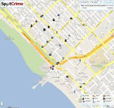 Kansas City Crime Map Santa Monica Ca Spots Crime Spotcrime The Public U0027s Crime Map