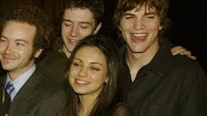 hollywood stars ashton kutcher and mila kunis u0027engaged u0027 itv news