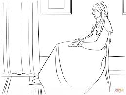 whistler u0027s mother by james mcneill whistler coloring page free