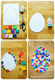 paper easter eggs diy rainbow paper easter eggs from mummy