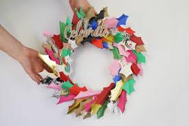 christmas card wreath cardmakingandpapercraft com