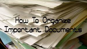 Organzie by How To Organize Important Documents Updated Filing System Youtube