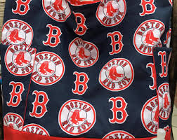 Boston Red Sox Shower Curtain Red Sox Nursery Etsy