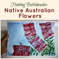 bottlebrush flower art u2013 danya banya