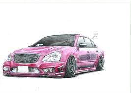 car drawing hey new on here massive fan of stanced cars and drawing them