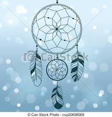 clip art vector of dream catcher this is file of eps10 format