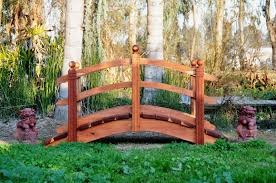 Backyard Bridge Handcrafted Wooden Arch Bridges And Japanese Water Garden Bridges