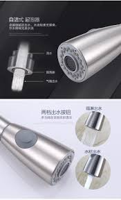 304 stainless steel pull out kitchen faucet kitchen mixer lead