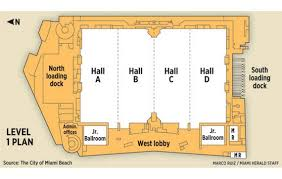 Orange County Convention Center Floor Plan by Miami Beach Convention Center U0027s Big Plans Miami Herald