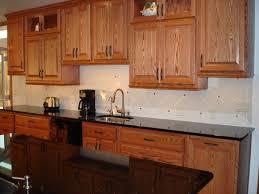 metal kitchen backsplash kitchen oak cabinets light wood kitchen metal kitchen
