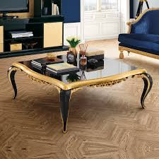 gold leaf coffee table black lacquered gold leaf coffee table juliettes interiors