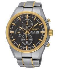 bracelet titanium seiko images Seiko men 39 s ssc392 titanium solar chrono analog two tone watch ebay jpg
