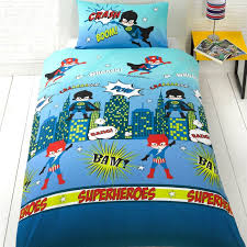 character and themed single duvet cover kids bedding sets avengers