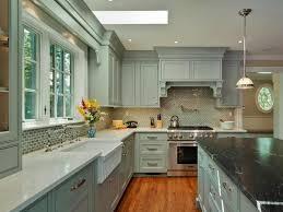 painted cabinet ideas kitchen greenish grey painted kitchen cabinets medium wood flooring white