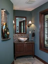 decoration chic deep blue wall paint color traditional powder