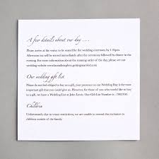 wedding gift list lewis amazing information cards for wedding invitations 13 for your