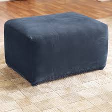 Stretch Ottoman Slipcover Sure Fit Stretch Pique Ottoman Slipcover Ottoman Slipcover