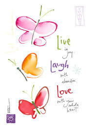 live laugh love live laugh love happy birthday card cardstore