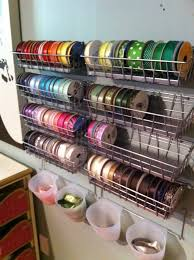 ribbon dispenser ribbon storage ideas craft projects for every fan