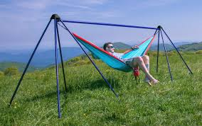 eno nomad hammock stand gear review perfect for a day at the beach