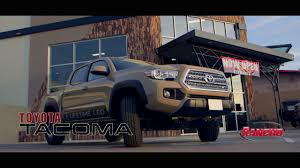 toyota tacoma rancho lift rancho suspension system install on a 2017 toyota tacoma pn