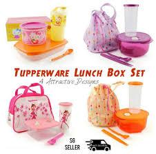 qoo10 tupperware lunch box bag kitty lunch 4
