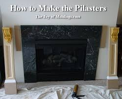 Make A Fireplace Mantel by How To Build Fireplace Mantel 102 Part 2 Make The Pilasters The