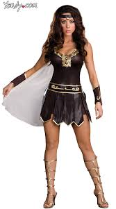 Queen Halloween Costumes Adults Gladiator Queen Costume Lonian Warrior Queen