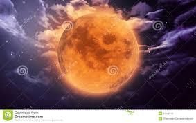 pumpkin moon halloween stock illustration image 61142519