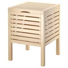 superior ikea bathroom stool molger storage stool birch ikea