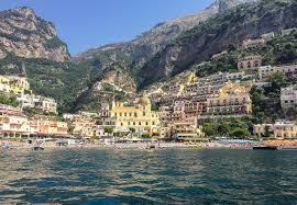 Positano Italy Map by Positano Positano Italy The View Of Positano While Kayaking