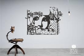 urban graffiti wall decal wall pattern vinyl text wall words zoom