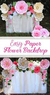 wedding backdrop of flowers the 25 best flower backdrop ideas on paper flower