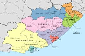 Alexandria On A Map List Of Municipalities In The Eastern Cape Wikipedia
