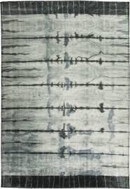 White Modern Rug by Mandala Contemporary Carpet N10849 By Doris Leslie Blau