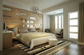 bed back wall design wooden wall panels for a warm look of the bedroom