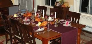 dining room beauteous thanksgiving table settings design
