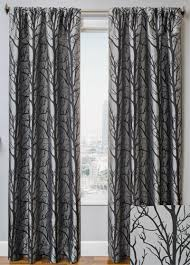 108 Inch Drapery Panels Grey Patterned Blackout Curtains Business For Curtains Decoration
