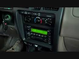 toyota 4runner radio toyota 4 runner car audio stereo and amplifier removal