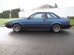 toyota corolla 2 door coupe 1987 toyota corolla ae86 sr20det top sport coupe 2 door big