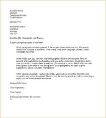 Formal Resume Template Sample Formal Letter Format Vacation Request Sample 48 Examples