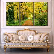 Drop Shipping Home Decor popular gold leaf framed art buy cheap gold leaf framed art lots