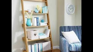 Leaning Ladder Bookcase by Leaning Ladder Shelf Youtube