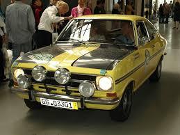 1969 opel kadett opel kadett rallye coupe motoburg