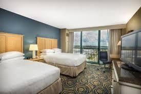 2 Bedroom Suites In Daytona Beach by King Suite Terrace Bedroom Picture Of Hilton Daytona Beach