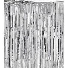 Silver Foil Curtains Shimmer Curtain 100 Images Black Metallic Shimmer Curtain 3ft